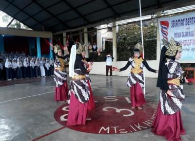 Mempererat Hubungan Silaturahmi Melalui Porsi-III MTs Ikhwatul Iman I Simpenan, Sukabumi