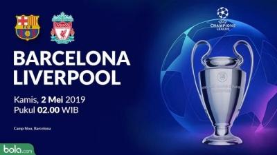 Liverpool Tidak Boleh Kalah Lawan Barcelona