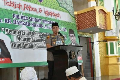 Jelang Ramadhan, Kapolres Sidrap Imbau Warga Jauhi Petasan