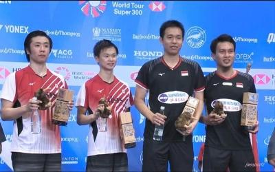 Pemain Indonesia Mengakhiri Puasa Gelar di Barfoot&Thompson New Zealand Open 2019
