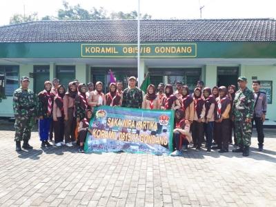 Bentuk Generasi Muda Berkarakter Koramil 0815/18 Gondang Gembleng Saka Wira Kartika
