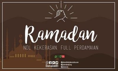 Ramadan, Momentum Tinggalkan Kebencian dan Menebar Kedamaian