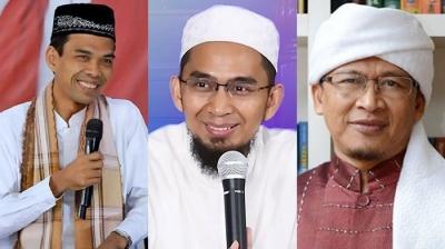 Ramadhan Penuh Intrik Pendukung, ke Mana Ustaz Aa Gym, Adi Hidayat, dan Abdul Somad?
