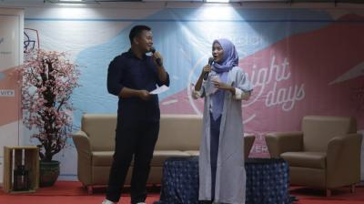 Public Speaking bersama Manufaktur Kosmetik Terbesar