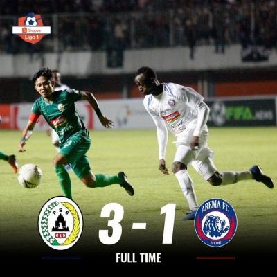 Penyebab Kekalahan Arema FC di Laga Pembuka Liga 1 2019