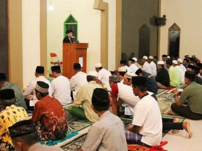 Safari Ramadhan Kecamatan Sinoa, Wabup Bantaeng: Rajut Kebersamaan