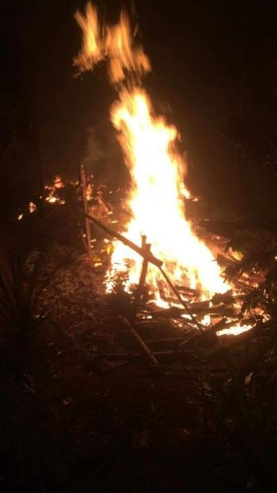 Ketika Sahudin Tarawihan Rumahnya di Salopa Tasikmalaya Habis Terbakar Tak Bersisa