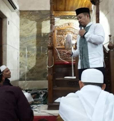 Lurah Meruya Utara: Mari Jaga Kerukunan Umat di Bulan Suci Ramadan