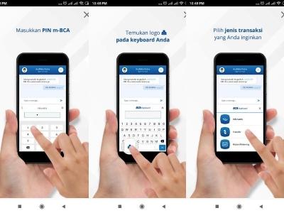 BCA Keyboard, Bikin Transfer Jada Gampang Sambil Chatting Sekalipun