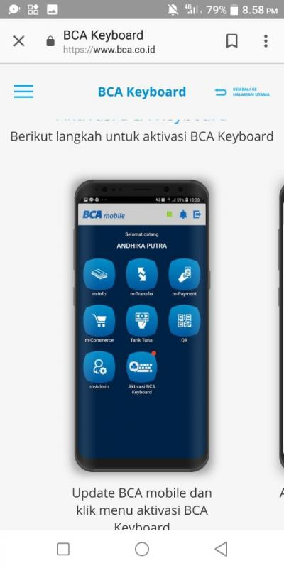 Bersilaturahmi dan Bertransaksi Lebih Mudah dengan Mobile Bangking