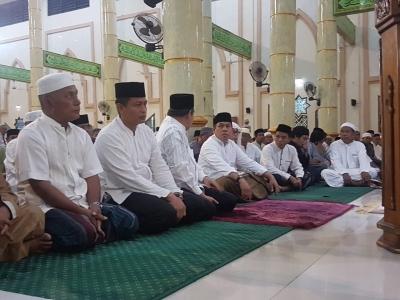 Safari Subuh, Kapolres Sidrap Sambangi Masjid Raya Rappang