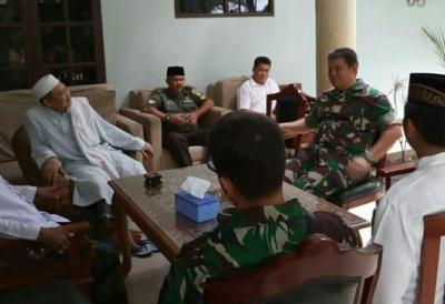 Rajut Sinergitas, Danrem 052/Wkr Silaturahmi Kebhinnekaan di Ponpes Al Istiqlaliyyah