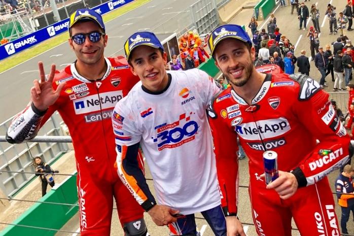 Marc Marquez Juara MotoGP Le Mans, Ini Jadi Kemenangan Ke-300 Honda