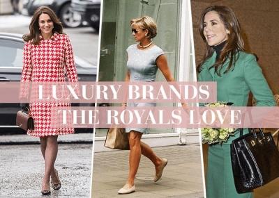 Luxury Brand yang Kerap Terlihat Dipakai Para Royals