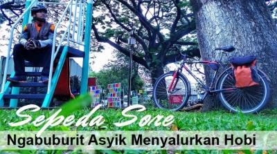 Sepeda Sore, Ngabuburit Asyik Menyalurkan Hobi
