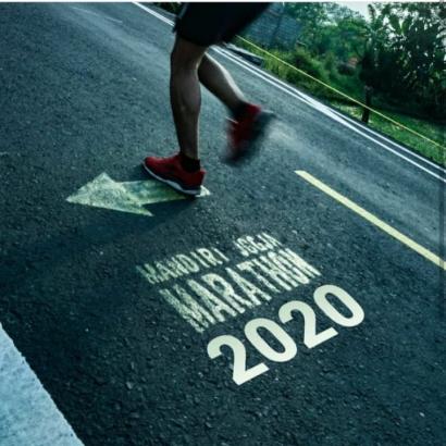 Mandiri Jogja Marathon, Tunggu Saya Tahun Depan!