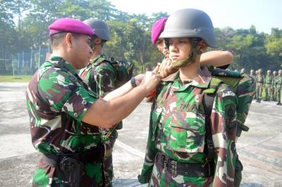 Danyonkes 2 Mar buka OTJ Bintara Remaja Kesehatan Ang.XXXVI TNI AL