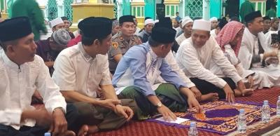 Kapolres Sidrap Hadiri Peringatan Nuzulul Quran di Masjid Agung