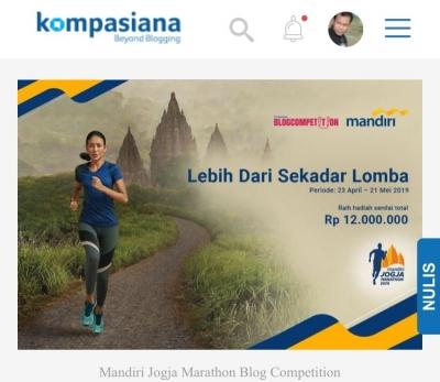 Mandiri Jogja Marathon, Hadirkan Masa depan Olahraga ke Masa Kini Yang Superlatif