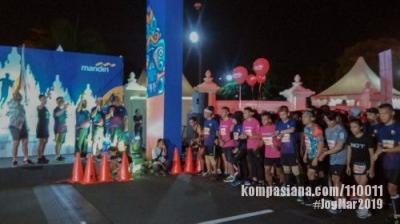 Menjadi Saksi Gelaran Mandiri Jogja Marathon 2019