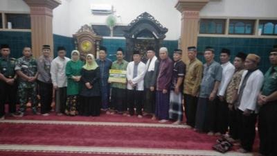 Danramil 0815/19 Magersari Safari Ramadhan bareng Forkopimda