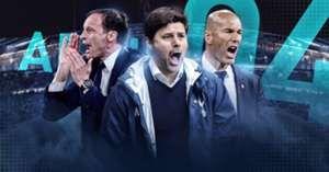 Segitiga Transfer Pelatih, Allegri, Zidane dan Pochettino