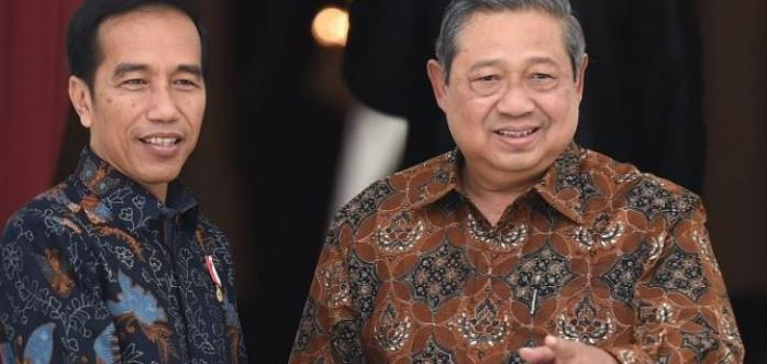 Makna di Balik Ucapan Selamat SBY untuk Jokowi