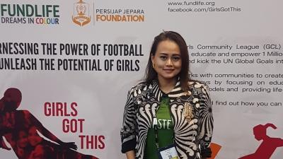"Esti Puji Lestari: ""Inspiring Woman in Football Industry"""