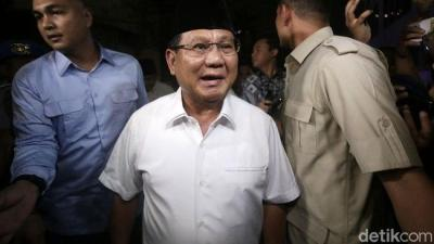 Akhirnya, Prabowo Seperti yang Dulu