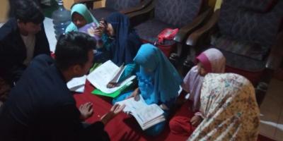 Mahasiswa KKN UM di Desa Branggahan Gelar Sinau Bareng (Sibar) bersama Anak-Anak Desa