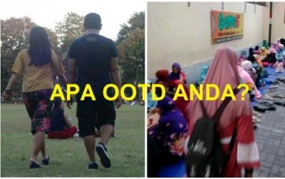 Esai Foto I OOTD Ngabuburit di Lapangan Puputan Badung dan Bukber di Masjid Al Qomar Denpasar
