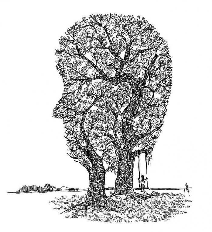 Puisi | Di Antara Dua Pohon