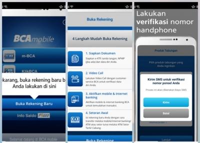 Biar Nggak Ada Drama, Buka Rekening Pake BCA Mobile Aja