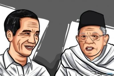 Dari Quick Count hingga Real Count, Jokowi-Ma'ruf Tetap Menang