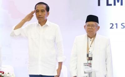 Modal Jokowi  55. 50%