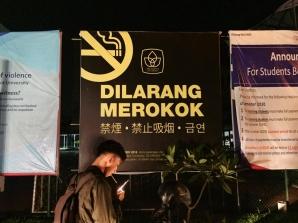 Larangan Merokok di Area Kampus President University