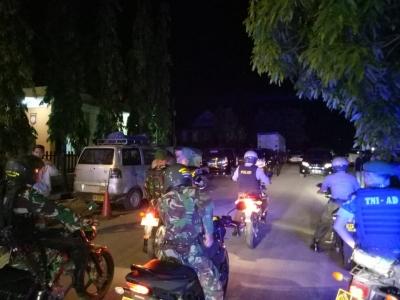 Jelang Lebaran Idul Fitri, TNI dan Polri di Sidrap Intens Gelar Patroli