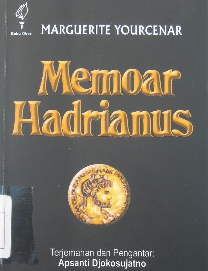 Memoar Seorang Kaisar Romawi, Hadrianus