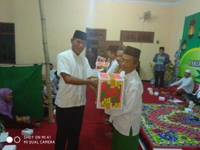Komsos Danpos Ramil Mojoanyar Hadiri Peringatan Nuzulul Qur'an