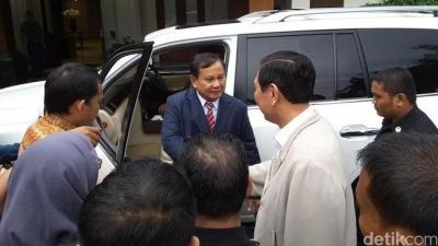 Prabowo Telepon Luhut, Rekonsiliasi Tanggal 03 Juni?