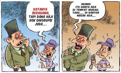 Apakah Menteri Agama Baru Nanti Tidak Doyan Korupsi?