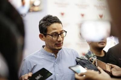 Sandi: Prabowo Tidak Akan Lama Bepergian