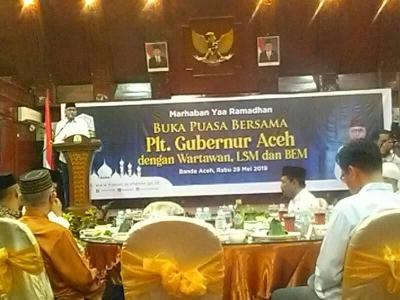 Silaturahmi Ramadhan 1440 H Bersama Plt Gubernur Aceh