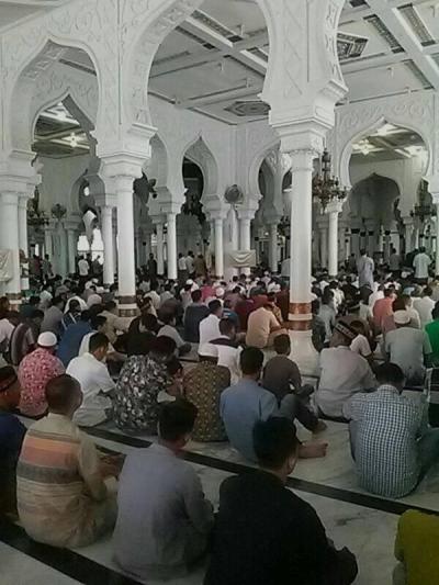 Shalat Jumat Terakhir di Bulan Ramadhan 1440 H