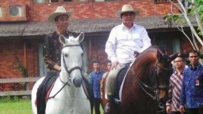 """""""Menunggu Godot"""" Pertemuan Jokowi dan Prabowo"""