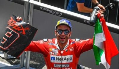 MotoGP Mugello: Danillo Petrucci Penyelamat Ducati