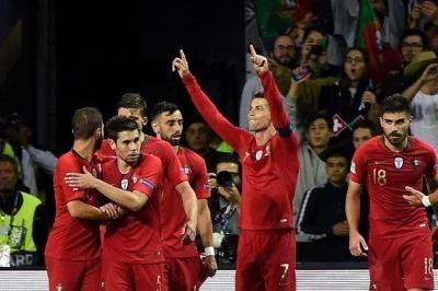 Tekuk Swiss, Portugal Calon Juara Pertama UEFA National League