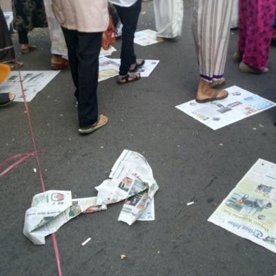 """""""Ied Mubarak"""" Menyisakan Sampah"""