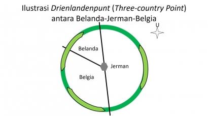 Pertemuan Tapal Batas Tiga Negara: Belanda-Jerman-Belgia