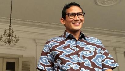 Mungkinkah Sandiaga Uno Menjadi Menteri Jokowi?